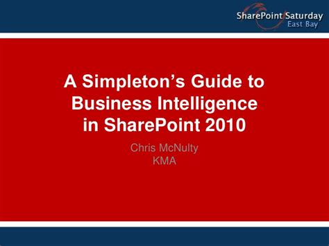 the presenter s fieldbook a practical guide christopher gordon new editions books a simpleton s guide to business intelligence in sharepoint