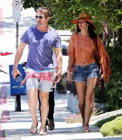 Flat Shoes Golfer Gf 5006 gerard butler enjoys lunch date with brown in malibu daily mail