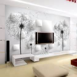 Wall Murals For Living Room Tv Backdrop Wallpaper Bedroom Living Room European Style