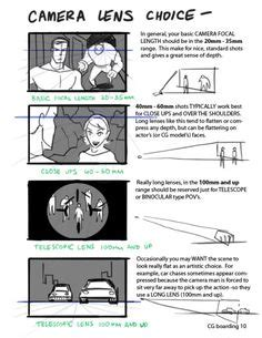 layout composition animation free storyboard templates for planning a movie art