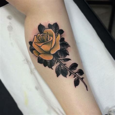 tattoos of yellow roses 25 best ideas about yellow tattoos on