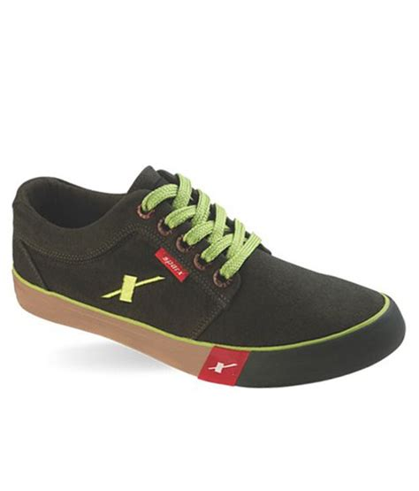 sparx black canvas shoes sparxsm175olive buy sparx