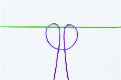 Macrame Basic Knots - basic macrame knots csldesigns