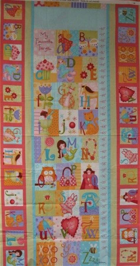 pattern for fabric growth chart curiosisties growth chart panel