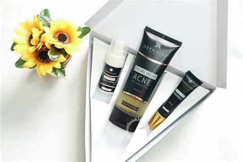 Spot Serum Aman Bpom Na18141900385 brand lokal dermaluz acne series package review