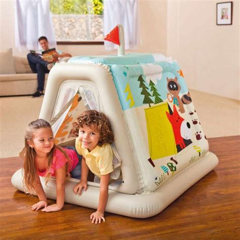 tenda casetta per bambini casetta gonfiabile per bambini tenda tepee intex 48634