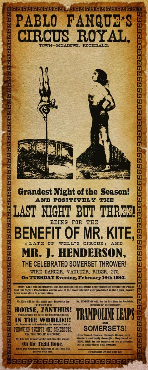 being for the benefit of mr kite lennon s for the benefit of mr kit based on