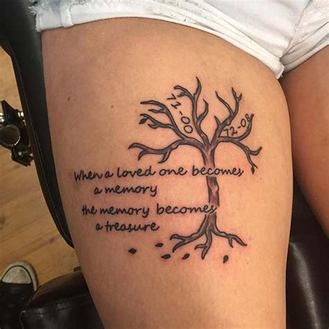 tattoo designs for loved ones 23 emotional memorial tattoos to honor loved ones crazyforus