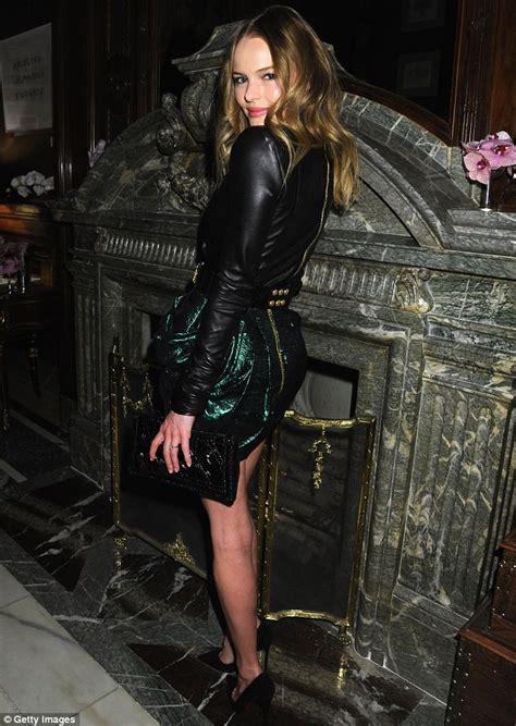 Shiny Fashion Tvs 25 High Challenge by Kate Bosworth Hits Another Style High Note In Leather Top