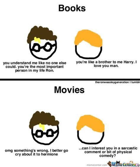 the difference between and books of harry potter by
