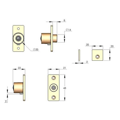 Door Stop Dimensions by Frank Allart Sash Stops In Brass Bronze Chrome Or Nickel