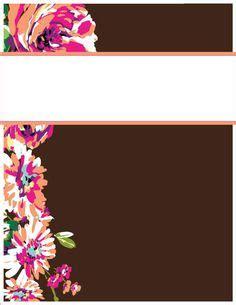 vera bradley recipe card template my binder covers happily