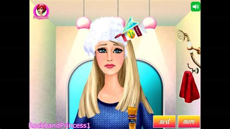 barbie haircut games to play barbie games to play barbie hair caring games youtube