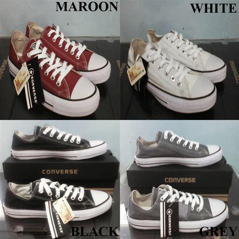 Grosir Sepatu All jual sepatu converse all black grosir sepatu