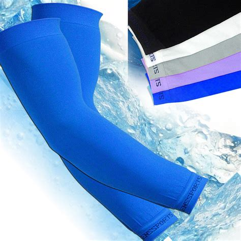 Ready Stockmurmer Hi Cool Arm Uv Protection Cover Kaos Sarung Tanga sens arm sleeves sport skin cooling uv cover sun protective basketball armband ebay