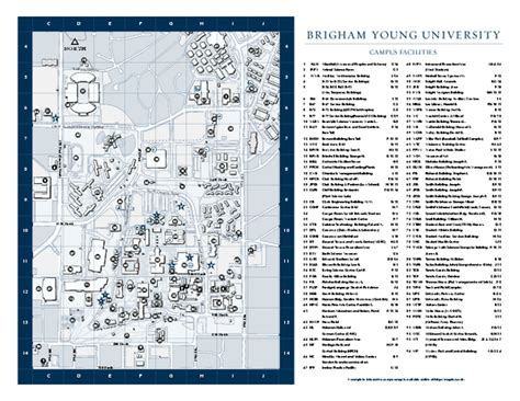 byu map aaa byu section ii
