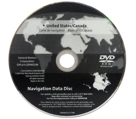 cadillac navigation disc 25979939 version