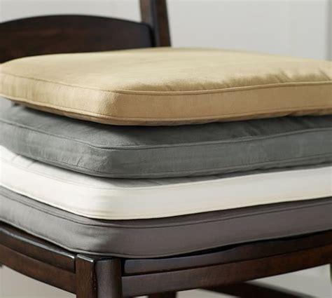 dining chair cushions pb classic dining chair cushion pottery barn