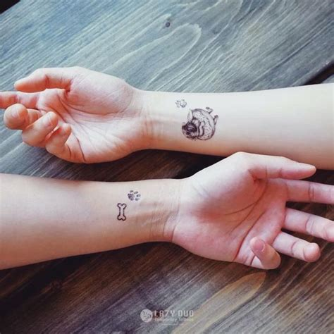 tattoo on wrist bone best friend tattoos ideas matching friendship symbols