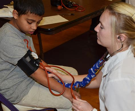 Background Check For Nursing Students Ces Students Undergo Health Screenings Cbellsville Independent Schools