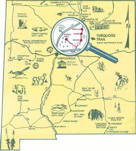 Nm State Map by Download Maps Amp Brochure Turquoise Trail National