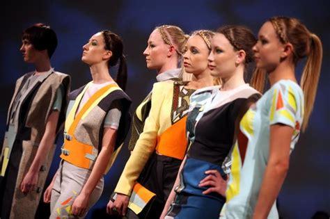 fashion design northumbria northumbria university fashion students show off designs