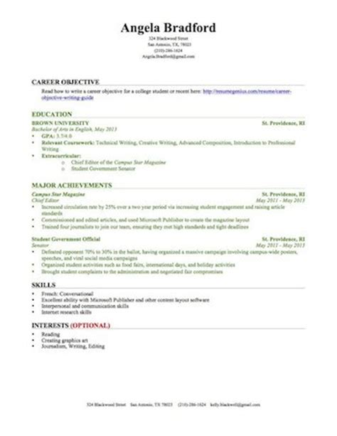 Mba No Experience Can T Find Work by Education Section Resume Writing Guide Resume Genius