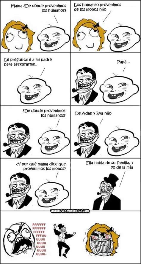 Memes En Espanol - memes en espa 241 ol 191 de d 243 nde provienen los humanos