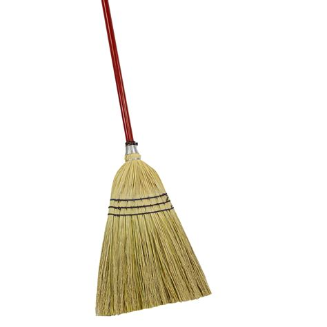 Shop Quickie   Clean Results Corn Stiff Upright Broom at Lowes.com
