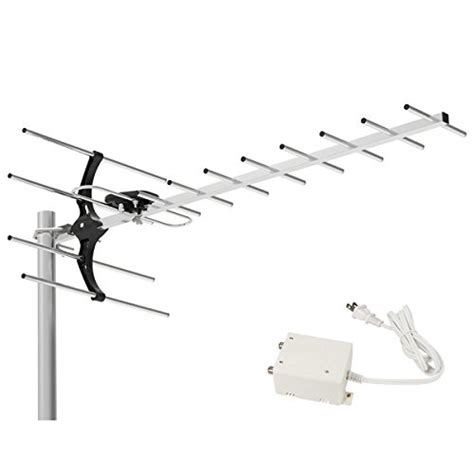 range attic antenna 1byone digital lified outdoor attic hdtv antenna 80
