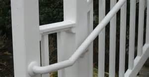 Vinyl Handrail Handrails For Stairs Vinyl Handrail Rdi