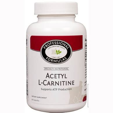 The Carnitine Defense professional complementary health formulas acetyl l carnitine formula ovitaminpro