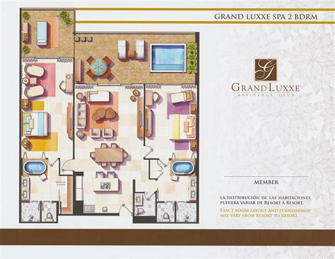 floor plan of spa floor plans grand luxxe residence