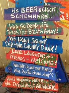 Backyard Luau Party Ideas Oops One Of A Kind Sign Of Signs For Pool Or Tiki Bar