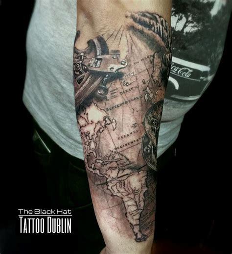 compass tattoo ink master best 10 world map tattoos ideas on pinterest world