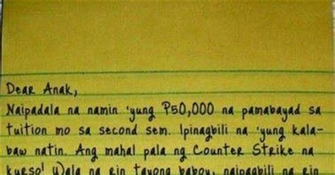 up letter in tagalog humor jokes pictures tagalog