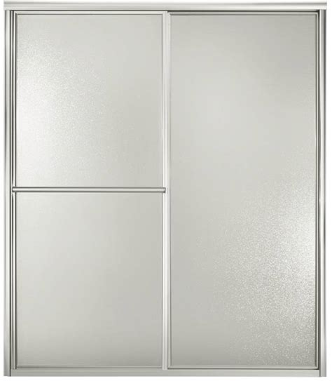 Sterling 5900 Shower Door Sterling 5900 Bypass Shower Door 48 7 8 In W X 70 In H Silver