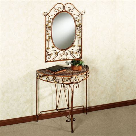 console table and mirror ginkgo console table and mirror