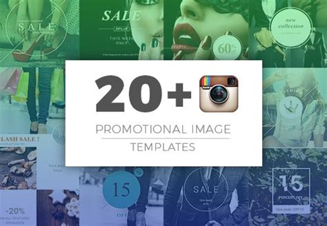20 Instagram Promotional Image Templates From 10 Inkydeals Instagram Promo Template