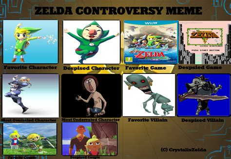 Legend Of Zelda Memes - zelda controversy meme by raidpirate52 on deviantart