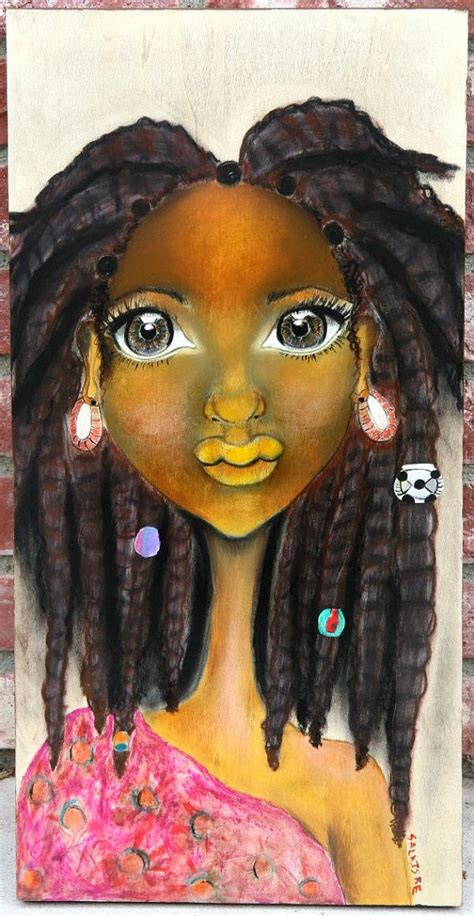 amazing black hair art pictures  paintings