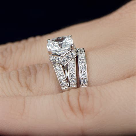 Wedding Ring Cz by Real Looking Rings Wedding Promise