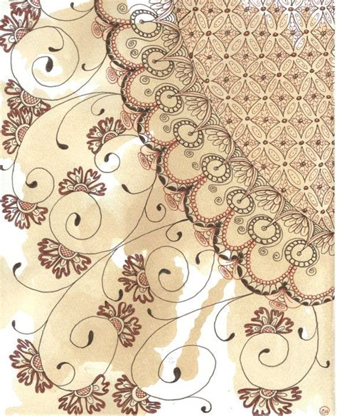 zentangle pattern lace 112 best zentangle flowers and leaves images on
