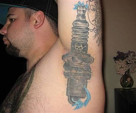 tattoos in inappropriate places armpit tattoos damn cool pictures