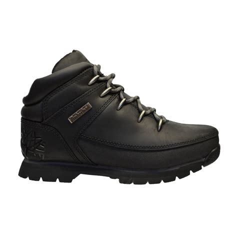 all black timberland boots timberland timberland sprint youth s black black