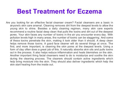 best treatment for eczema best treatment for eczema