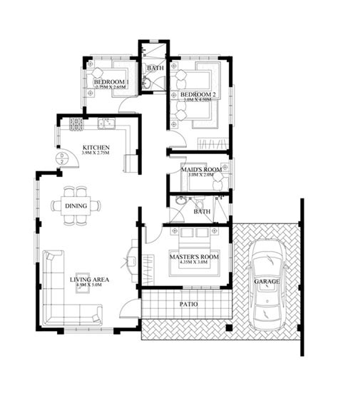 bungalow house phd 2015016 house designs