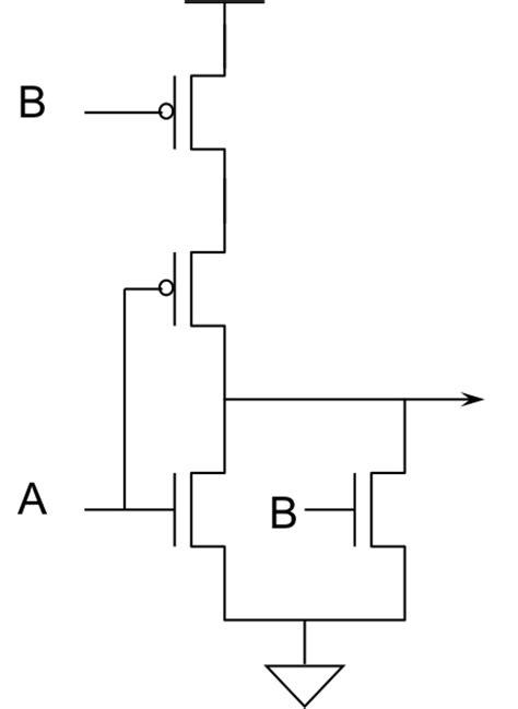 cmos layout elements cmos