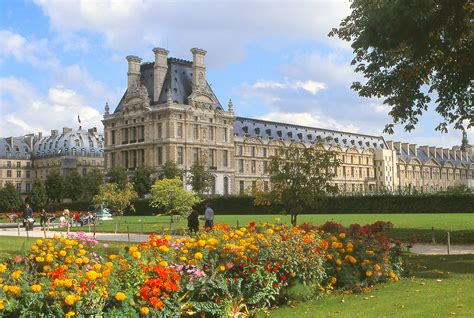 Tuileries Garden by Tuileries Gardens And The Louvre A Photo On
