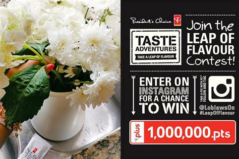 Healthy Giveaway Ideas - giveaway win 1 000 000 pc plus points with loblaws leapofflavour my little